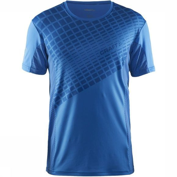 Craft T-Shirt Focus 2.0 Mesh Middenblauw