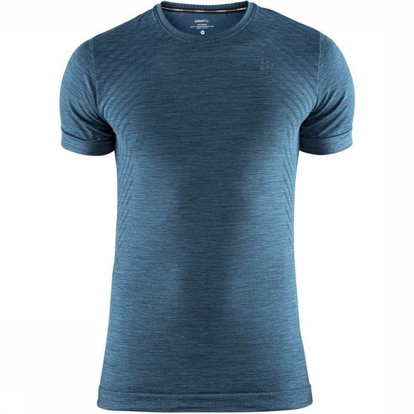 Craft T-Shirt Fuseknit Comfort Rn Ss M blue/exceptions