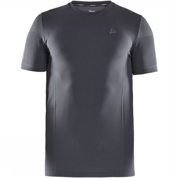 Craft T-Shirt Urban Run Fuseknit Light Gris Foncé
