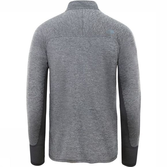 The North Face Trui Men'S Ambition 1/4 Zip Crew Donkergrijs Mengeling