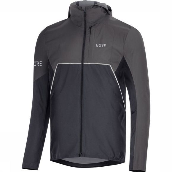 Gore Wear Windstopper R7 Partial Gore-Tex Infinium Zwart/Donkergrijs
