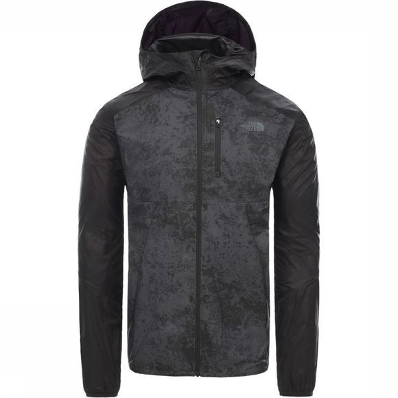 The North Face Windstopper Ambition Wind Donkergrijs Mengeling