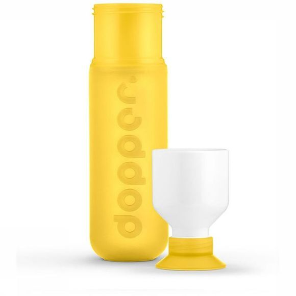 Dopper Drink Bottle Original mid yellow