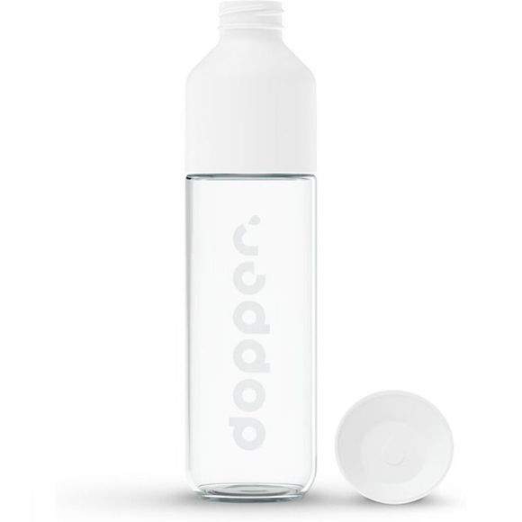 Dopper Drinkfles Dopper Glass 400 ml Wit