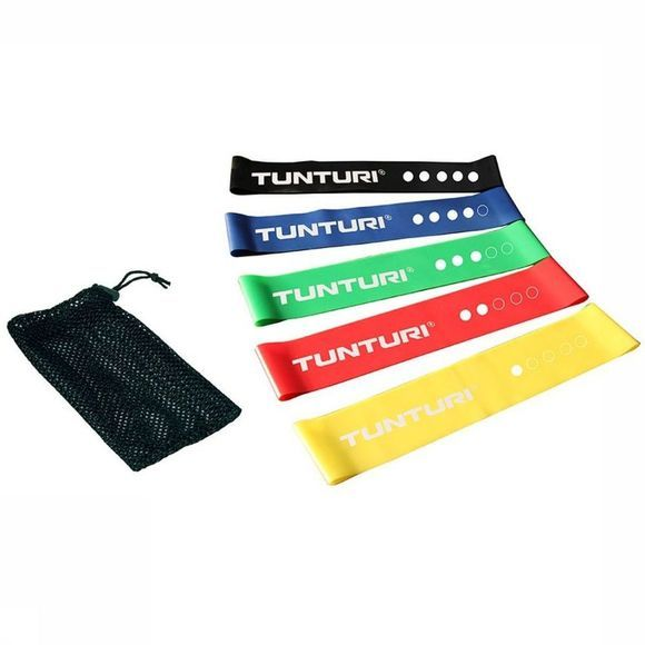 Tunturi Mini Weerstandsbanden Set (5) Assortiment