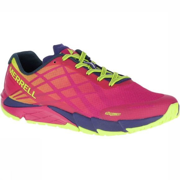 Merrell Chaussure Bare Access Flex Rouge/Jaune
