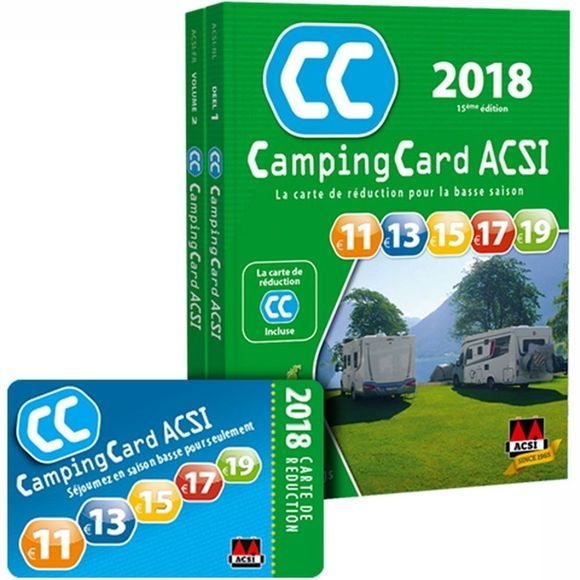 Campingcard 2018 Gps 20 Countries French