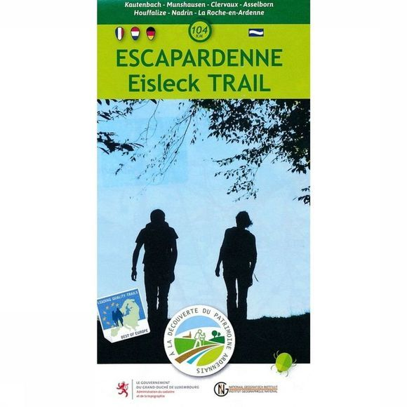 NGI Kaart Escapardenne Eisleck Trail wp B.TOE.170 2012