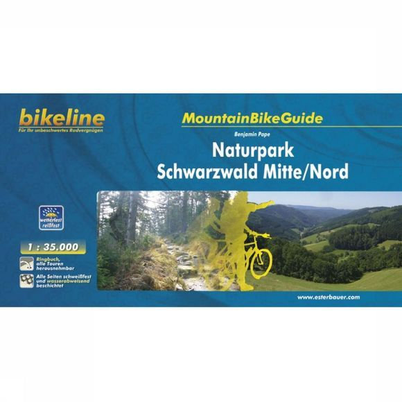 Schwarzwald Mitte + Nord mountainbikeguide GPS wp