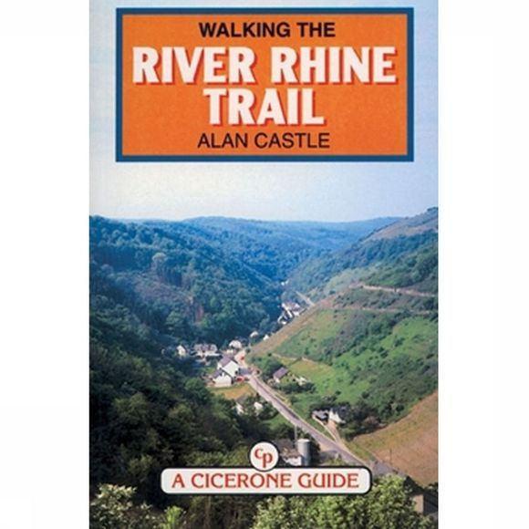 Cicerone River Rhine-Trail walking guide 273km GEEN RETOUR 1999