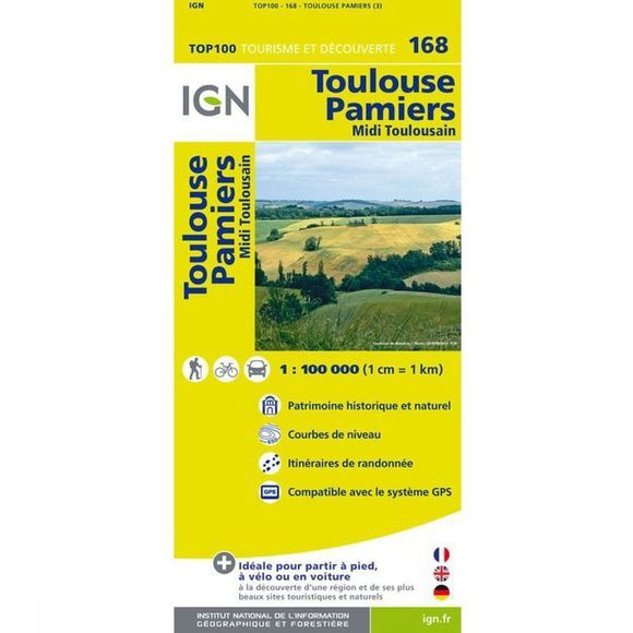 IGN Carte Toulouse / Pamiers 2014