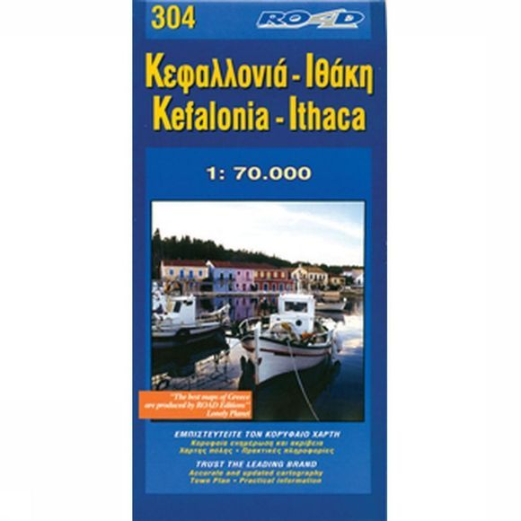 Road Editions Kefalonia / Ithaca road ed. 2009