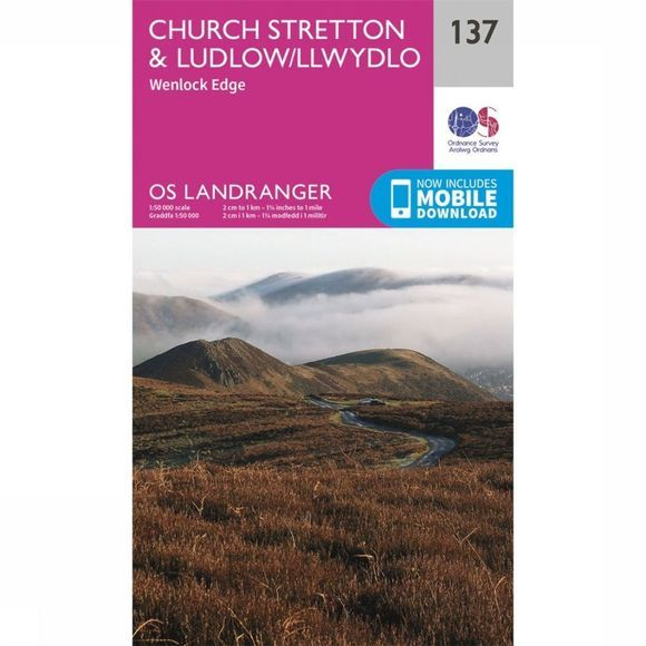 Ordnance Survey Ludlow / Church Stretton 2016