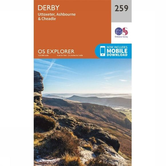 Ordnance Survey Derby / Utoxeter 2015