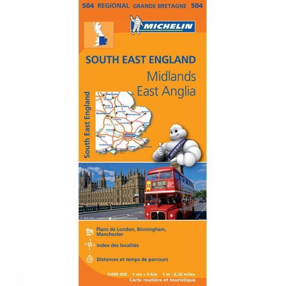 Travel Guide Engeland ZO 504 mich (r) Middle East Anglia