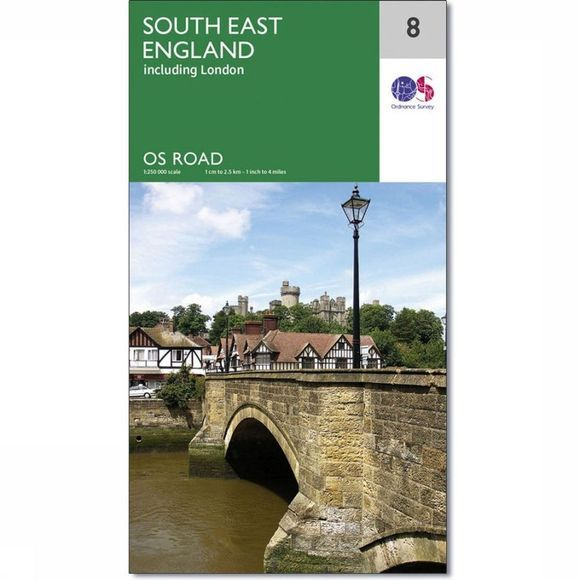 Ordnance Survey England South East 2016