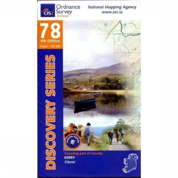 Ordnance Survey Kerry Osi Disc 78 2015