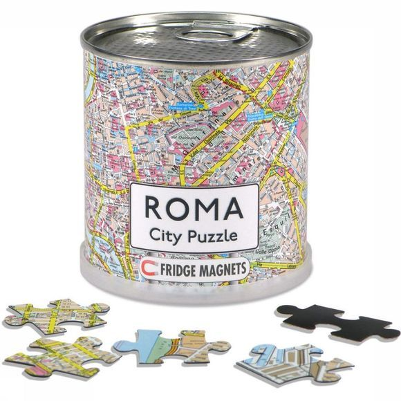 EXTRAGOODS Reisboek Roma city puzzle magnets 2014