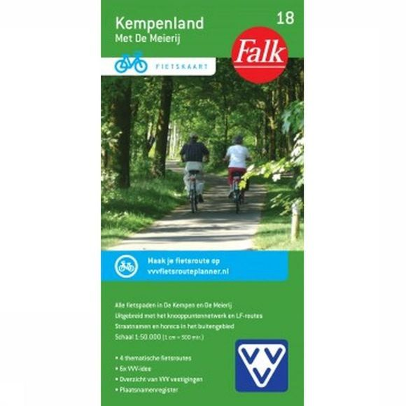 Kempenland 18 Cycle Map