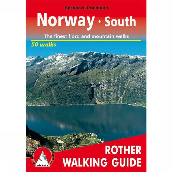 Rother Norway South Walking Guide 50T 2016