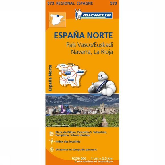 Travel Guide Pais Vasco/ Navarra / La Rioja 573 mich (r)