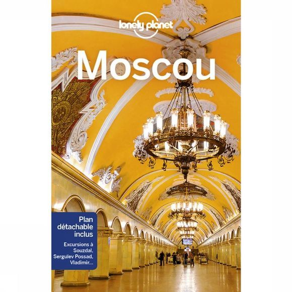 Lonely Planet Moscou 2 Lp 2018