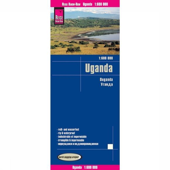 REISE KNOW-HOW Uganda Rkh R/V (R) Wp Gps 2019