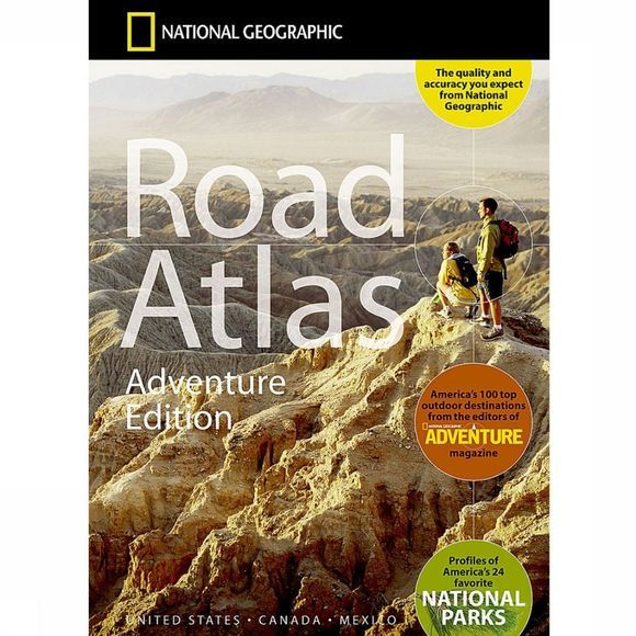 National Geographic USA / Canada / Mexico road atlas ng Adventure ed. 2019