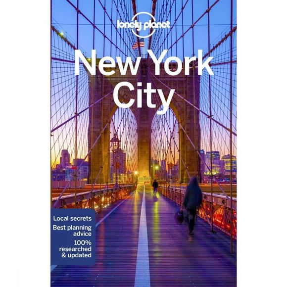 Lonely Planet New York City 10 Guide + Map 2018