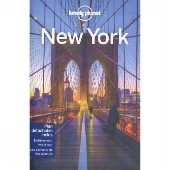 Lonely Planet New York City 10 + Carte 2018