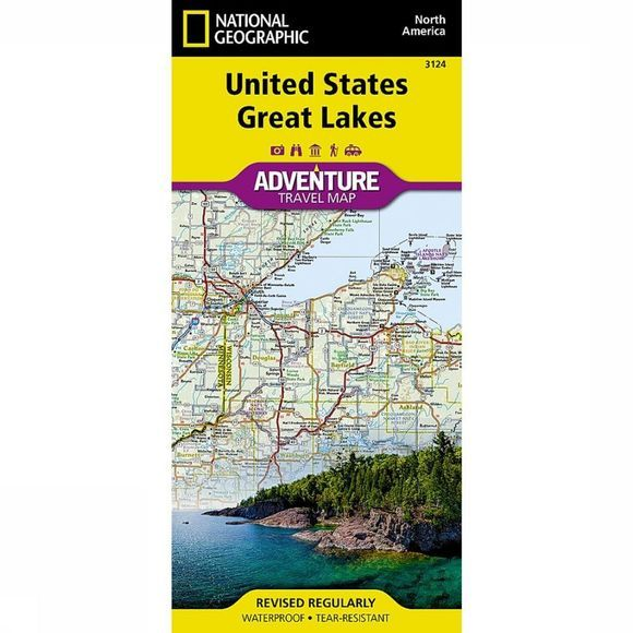 National Geographic Usa Great Lakes Adv. Ng R/V (R) Wp 2017