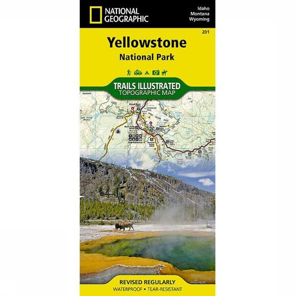 National Geographic Yellowstone NP (WY+MT+ID) 2012