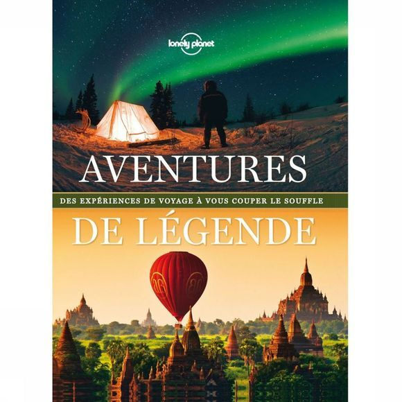 Lonely Planet Reisgids Aventures de légende 1 lp 2013