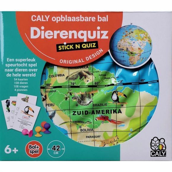Caly Toys Spel Toys Stick 'N Quiz 2018