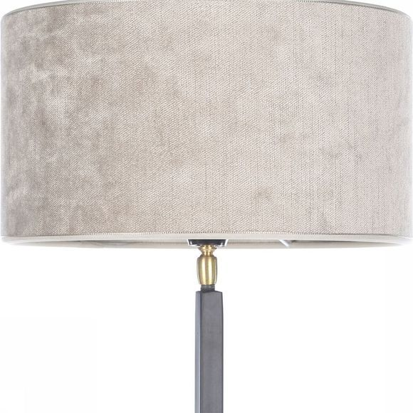 Floorlamp Velvet Shade Large