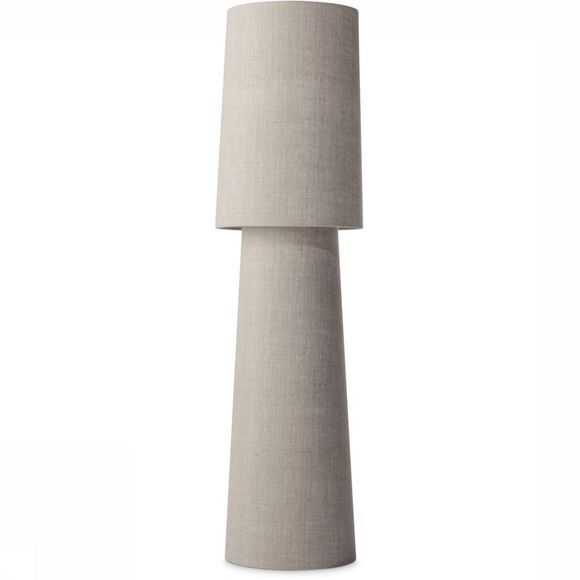 Yaya Home Staanlamp Linen Fabric Table Lamp, Large Zandbruin