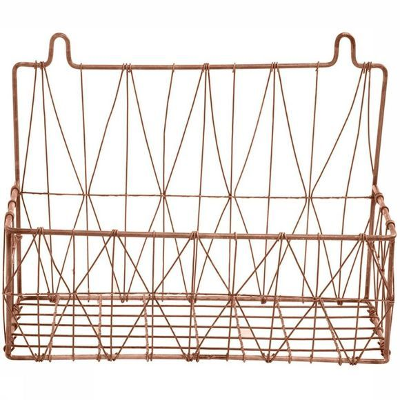 Mand Wire Basket Hanging Triangle 34X14X26