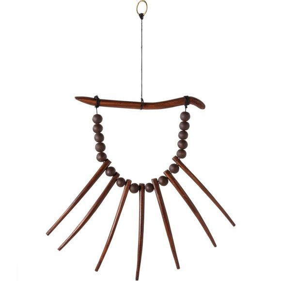 Yaya Home Wall Decoration African Hanger Spikes Middenbruin