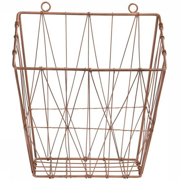 Draadmand Wire Hanging Basket Triangle 28X14X33