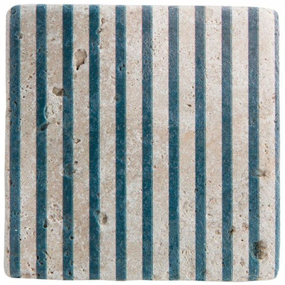 Decoratie Printed Tile Stripe 10X10Cm