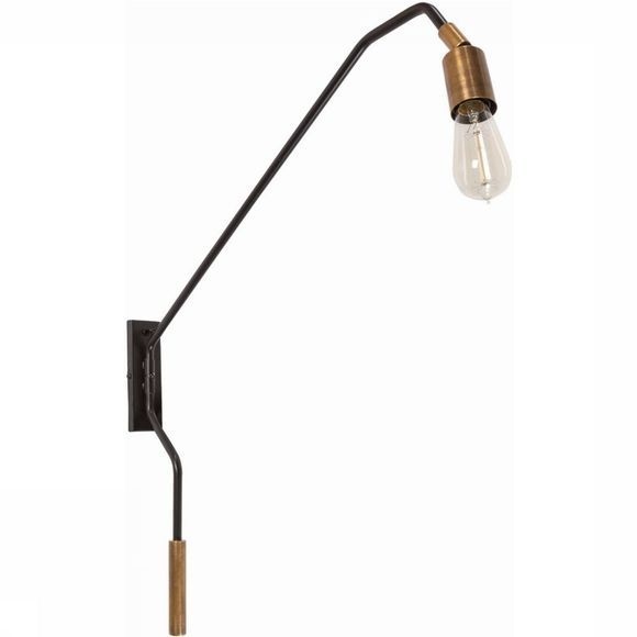Yaya Home Wall Lamp Pipe Koper
