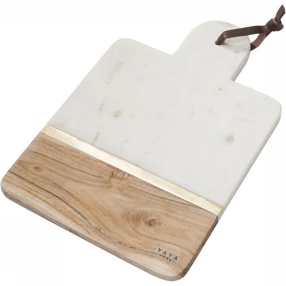 Servies Marble Wooden Trencher  - Small
