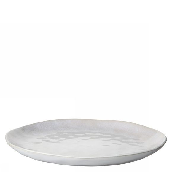 Yaya Home Servies Glazed Ceramic Dinner Plate Wit