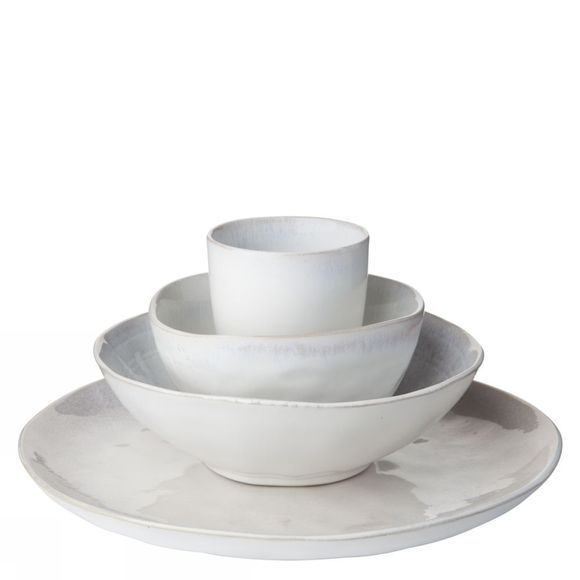 Yaya Home Servies Glazed Ceramic Bowl - Small Wit