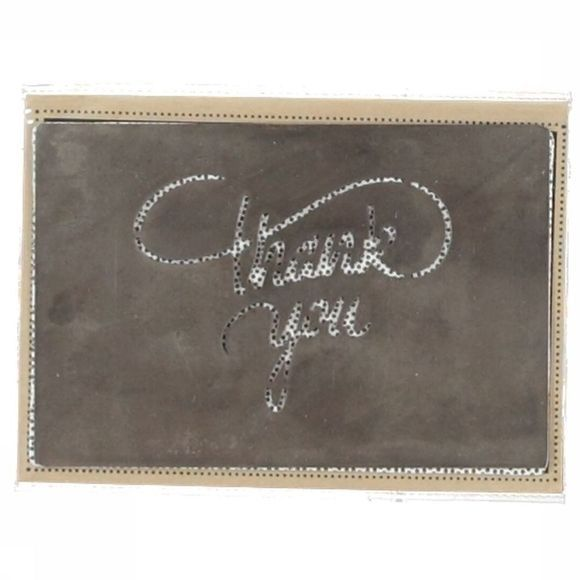 Yaya Home Metal Card Thank You 10X15 Assortiment