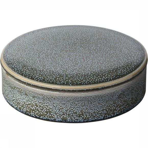 Yaya Home Opbergen Round Ceramic Storage Pot With Lid Middengrijs