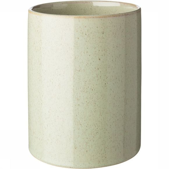 Yaya Home Opbergen Tall Ceramic Storage Pot With Lid - Large Lichtgroen