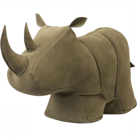 Yaya Home Decoratie Suede Look Rhino - Large Groen