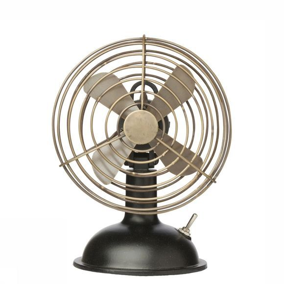 Yaya Home Accessoire Mini Air Fan Middenbruin