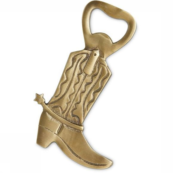 Yaya Home Accessoire Cowboy Boot Bottle Opener Brons